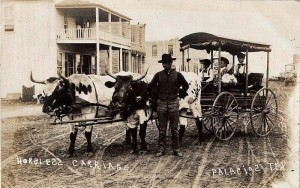 Palacios, early 1900s showing Williams Building in background